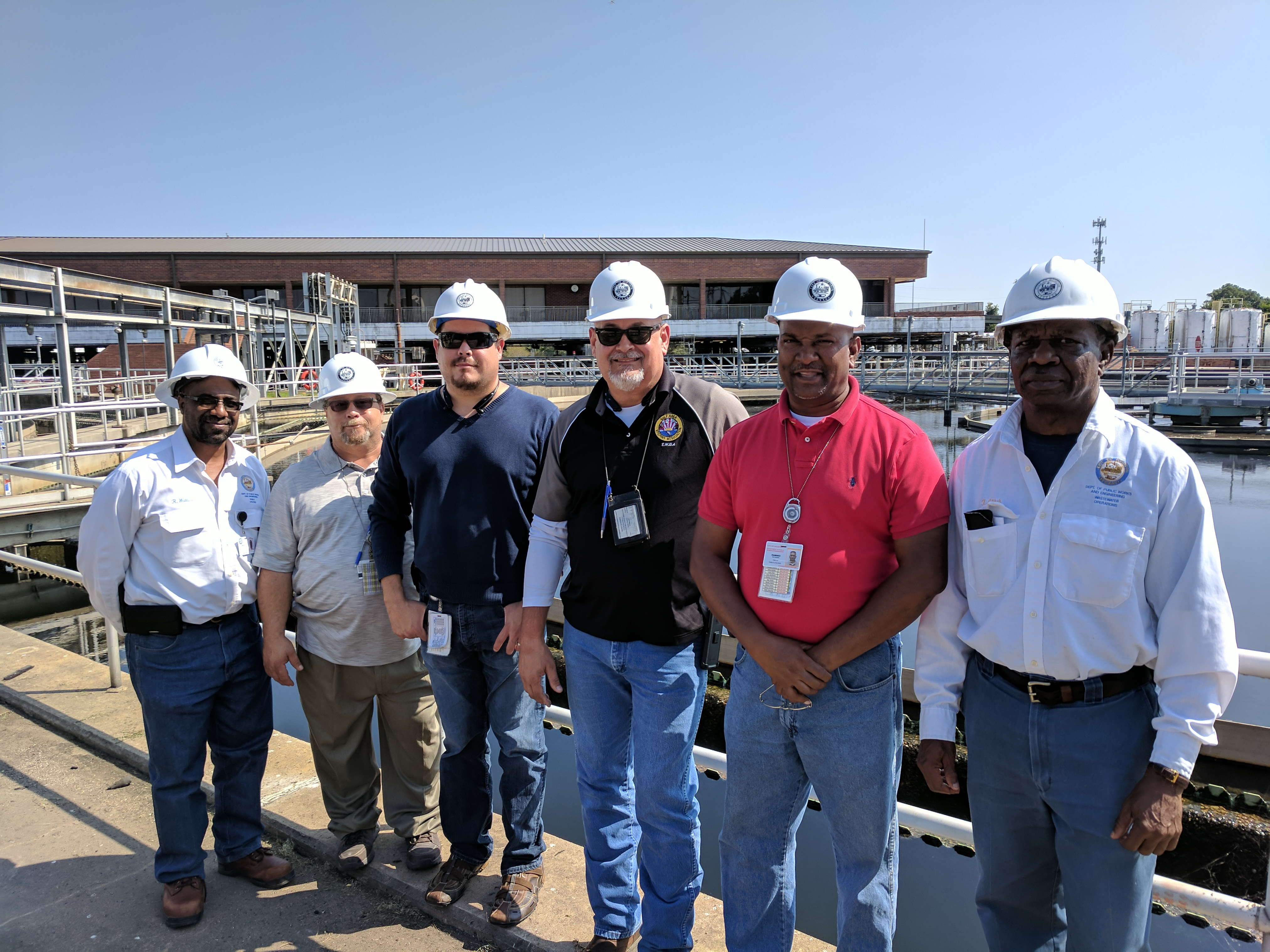 Operators and managers at the 69th Street Wastewater Treatment Plant in Houston kept operations running during Hurricane Harvey.